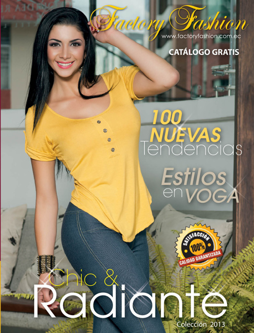 Catalogo Factory Fashion Coleccion CHIC & RADIANTE