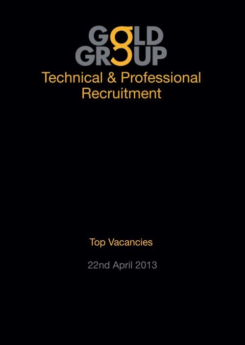 Gold Group - Job roundup