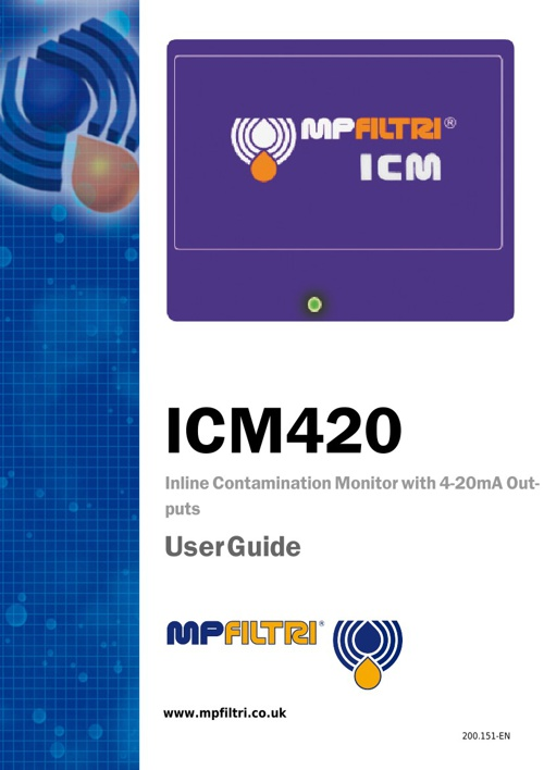 ICM 420 User Guide