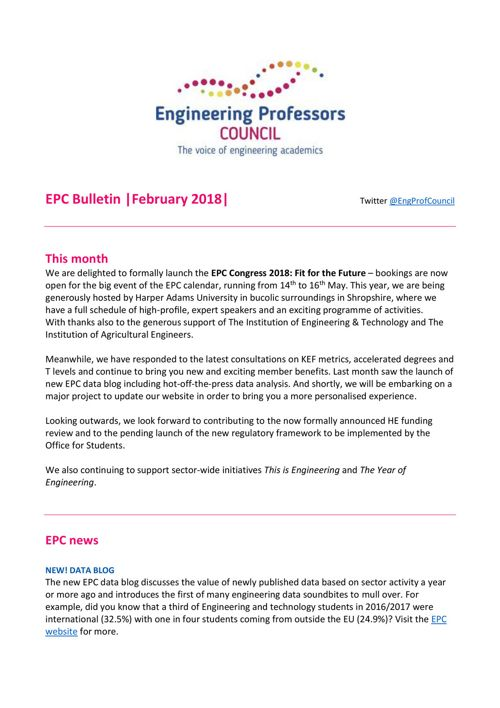 Engineering Professors' Council infoDigest 27 Feb 18