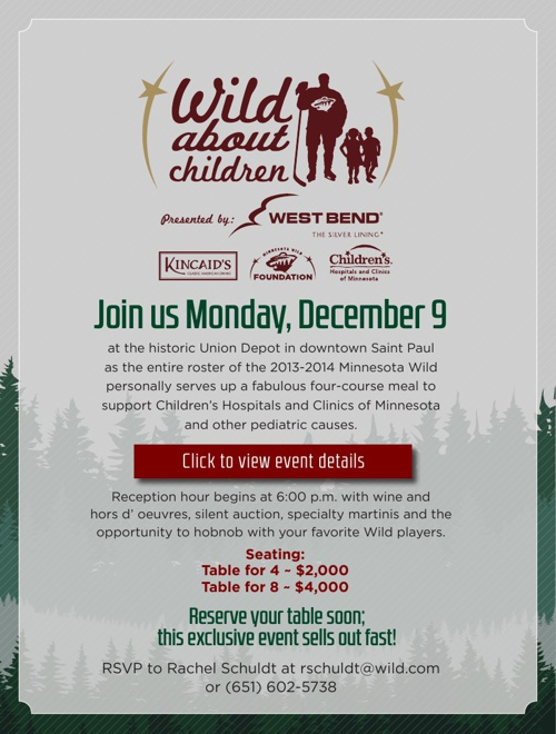 2013 Wild About Children Event