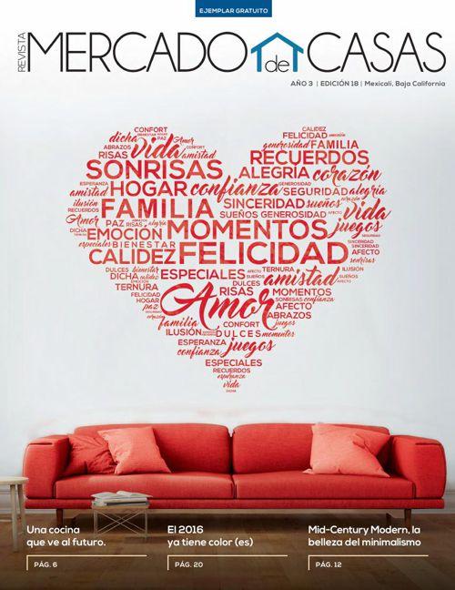 Revista Mercado de Casas Enero/Febrero 2016 Año 3 Edición 18