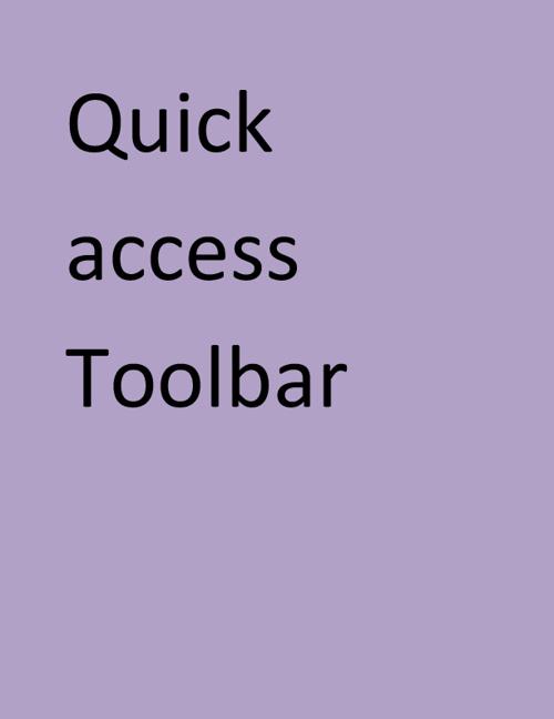 Word 2010 Vocabluary List