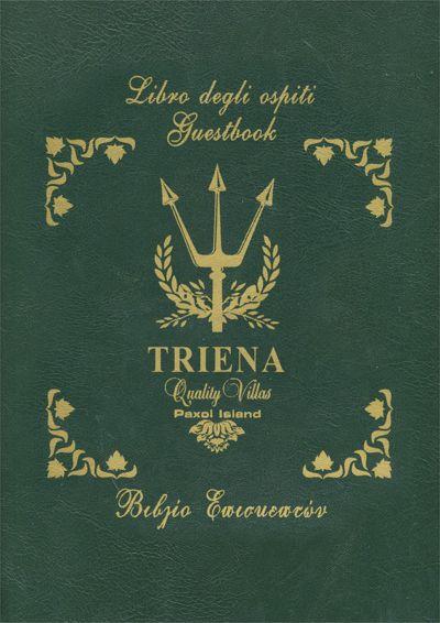 Triena Villas - Βιβλίο Επισκεπτών Αναστασία