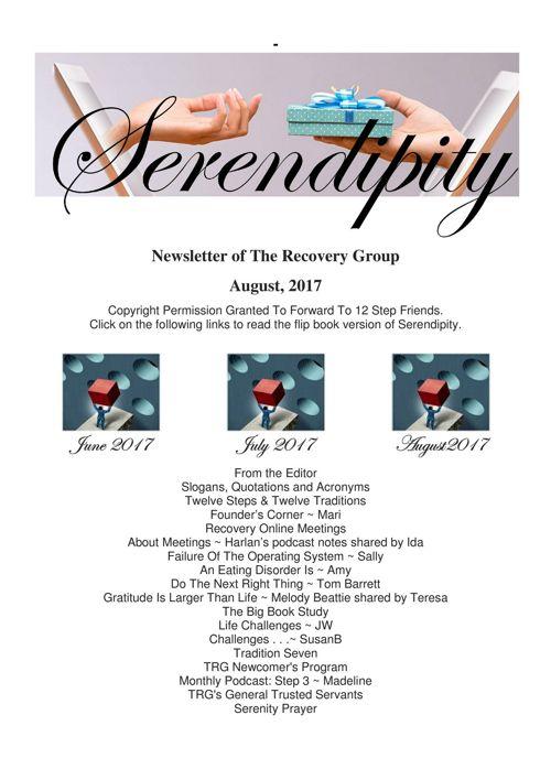 08 Serendipity ~ Agust 2017