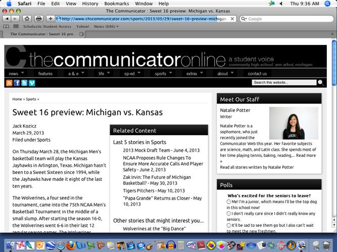 Communicator Portfolio. Jack Kozicz