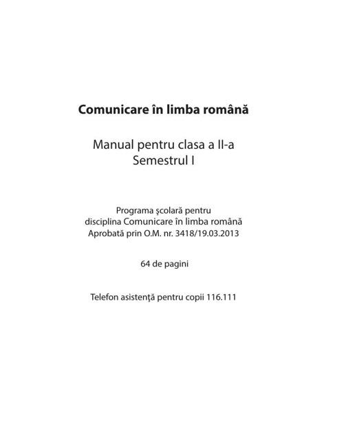 INTERIOR Manual ROMANA cls II_sem 1