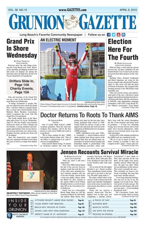 Grunion Gazette | April 9, 2015