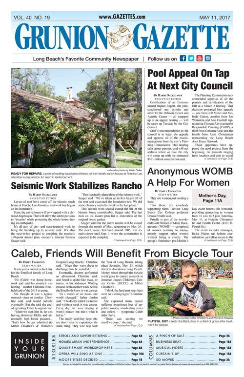 Grunion Gazette  |  May 11, 2017