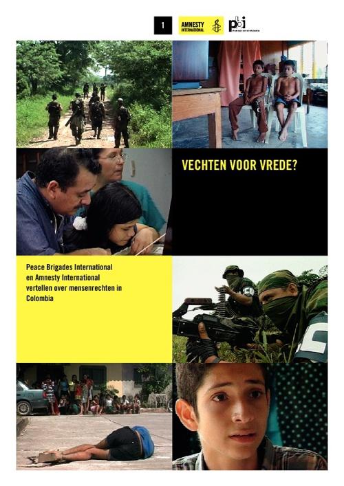 Lesbrief Colombia: vechten voor vrede?