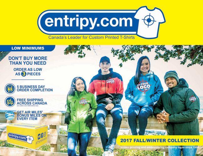Entripy Fall Winter Catalogue 2017
