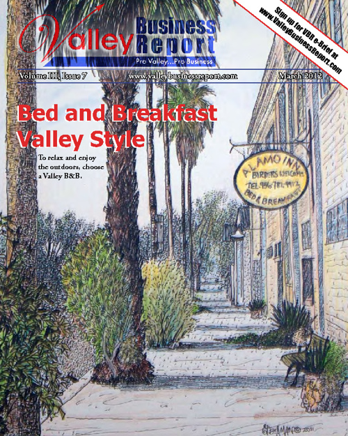 Valley Business Report - March 2012