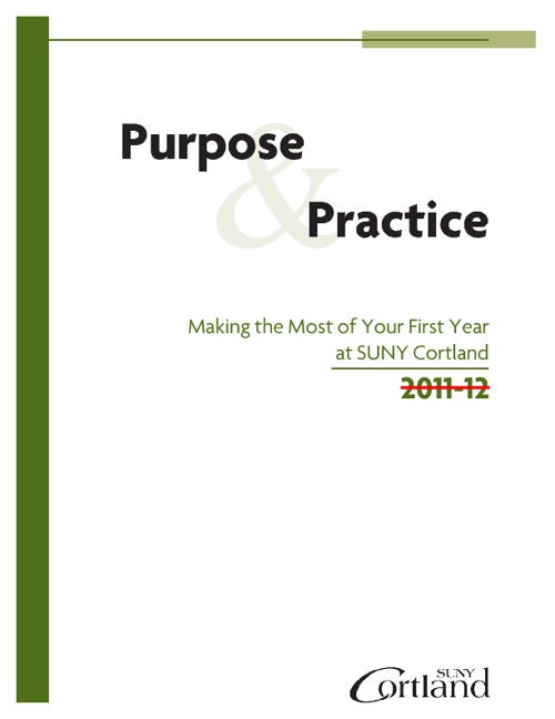 Purpose and Practice
