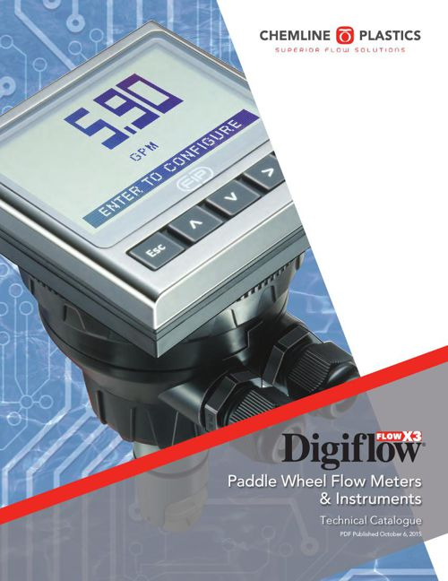 Digiflow Flow Meters and Instruments