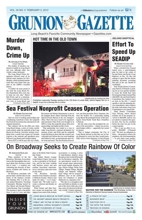 Grunion Gazette | February 2, 2012