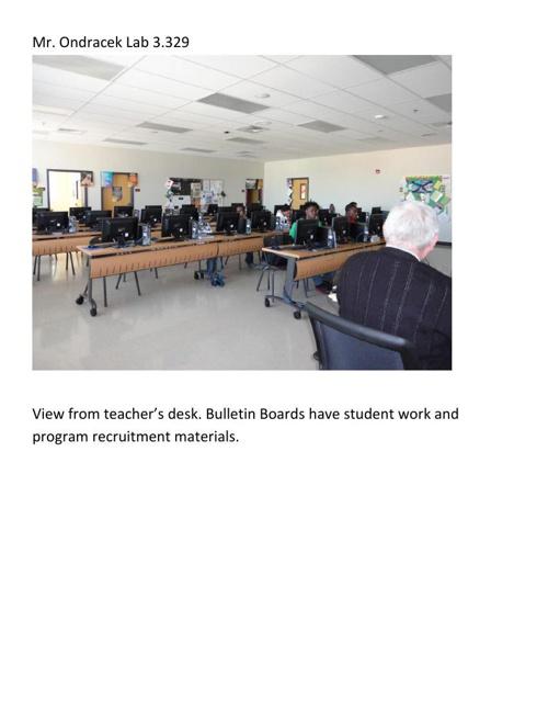 Classroom appearance