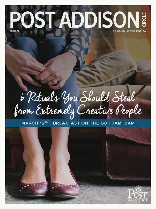 March 2015 Post Addison Circle Newsletter