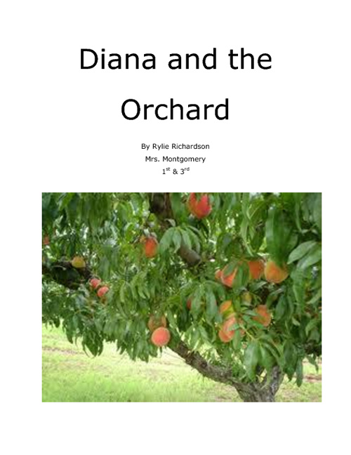 Diana and the Orchard