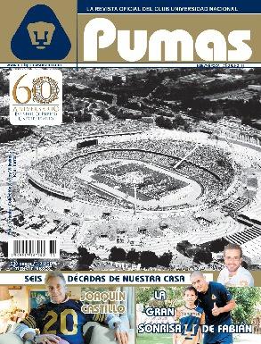 Revista Pumas Noviembre 2012