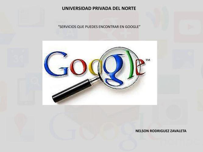 servicios google nelrod