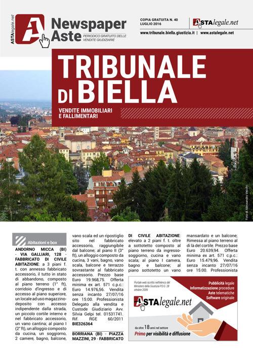 Biella luglio 2016