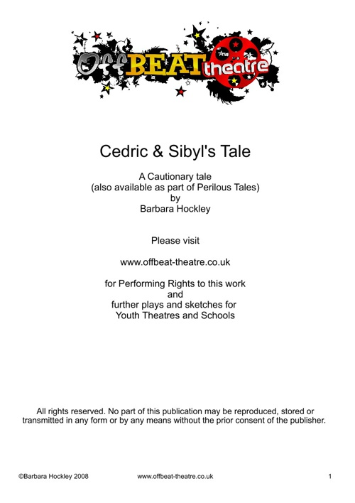 Cedric and Sibyl's Tale