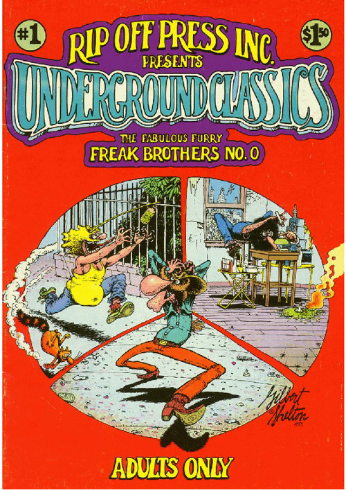 Collection The fabulous furry FREAK brothers