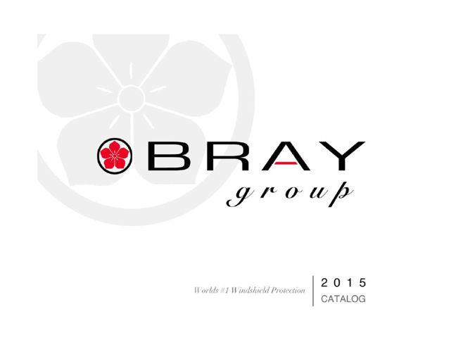 Bray Group 2015 Catalog