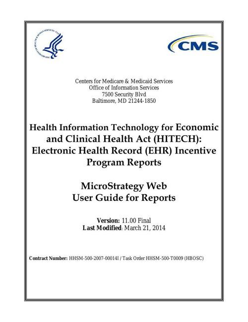 HITECH_MicroStrategy_Web_User_Guide_Version_11.00_03_21_2014_FIN