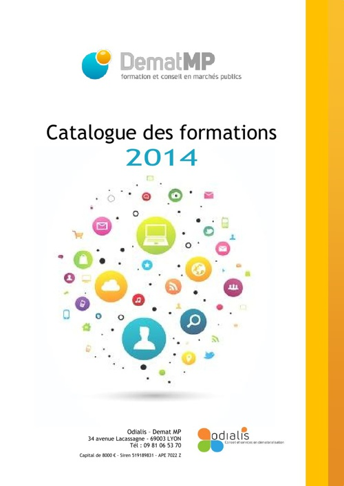 Copy of Catalogue formations 2014