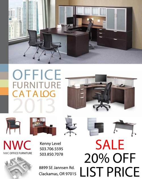 NWC Office Furniture 2013 Catalog