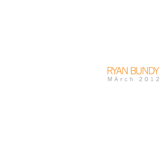 Ryan Bundy - Portfolio