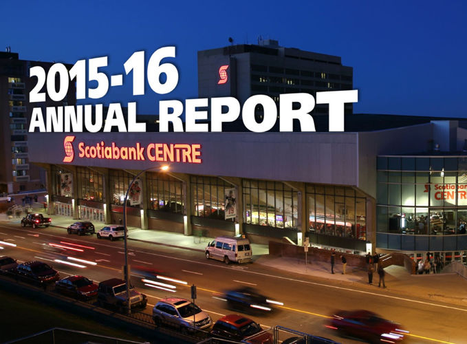 2015-16 Scotiabank Centre Annual Report