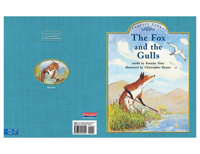 The Fox and the Gulls Book