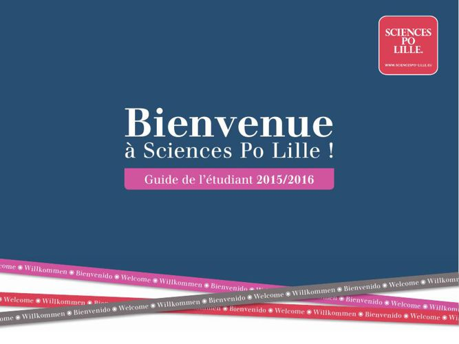 Sciences Po Lille - Guide étudiant 2015-2016