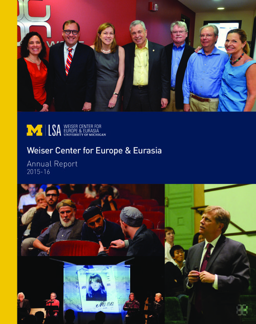 2015-16 Weiser Center Annual Report