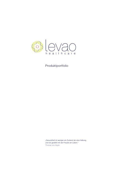 Levao.de Healthcare Produktportfolio - Hochformat