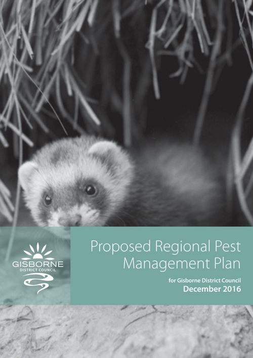 Proposed Regional Pest Management Plan 2016