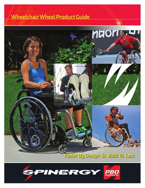 Spinergy Wheelchair Product Catalog
