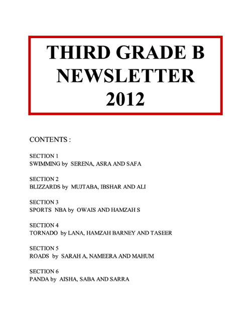3B News