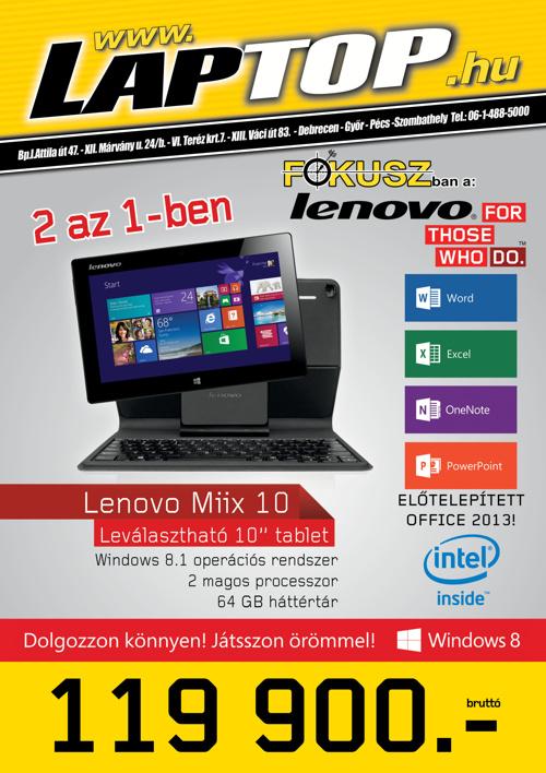 Tablet Lenovo katalógus