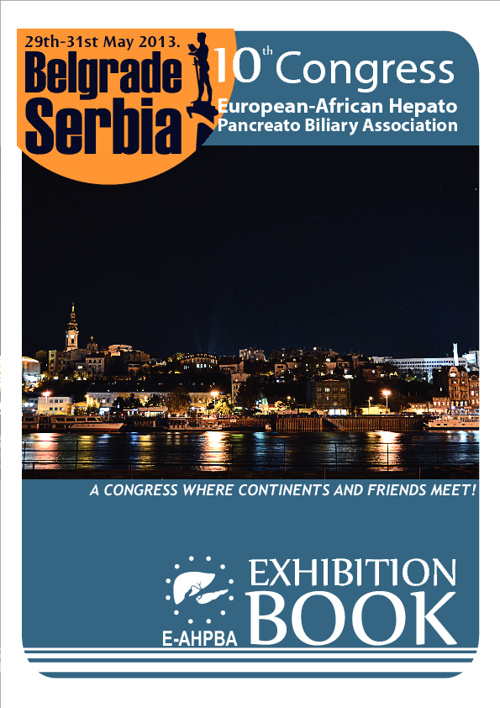 E-AHPBA 10th Congress Belgrade 2013 Exhibition book