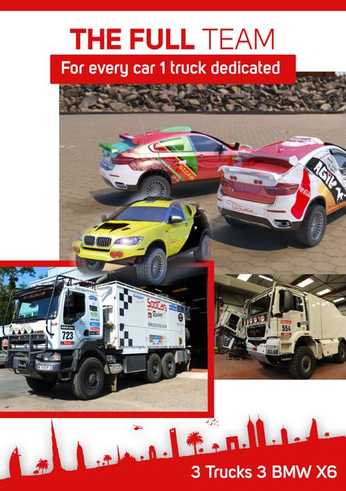Sanzo motors , Dakar Team part3