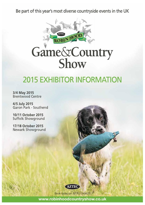 Game & Country Show Exhibitor Brochure