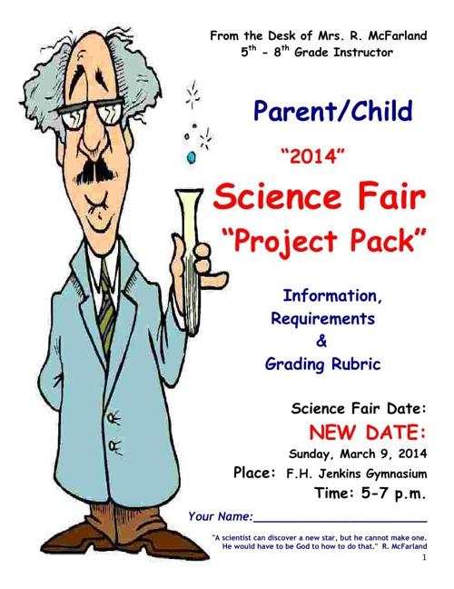 Copy of SCIENCE Fair 2014 5-8