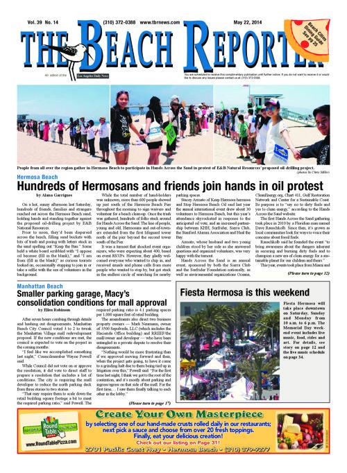 The Beach Reporter   5-22-14