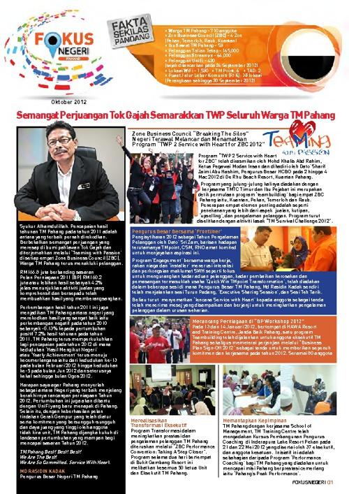 Fokus negeri Pahang