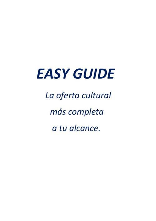 catálogo EASY GUIDE