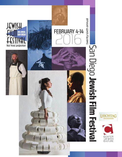 San Diego Jewish Film Festival Brochure 2016