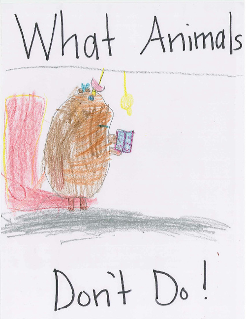 What Animals Don't Do